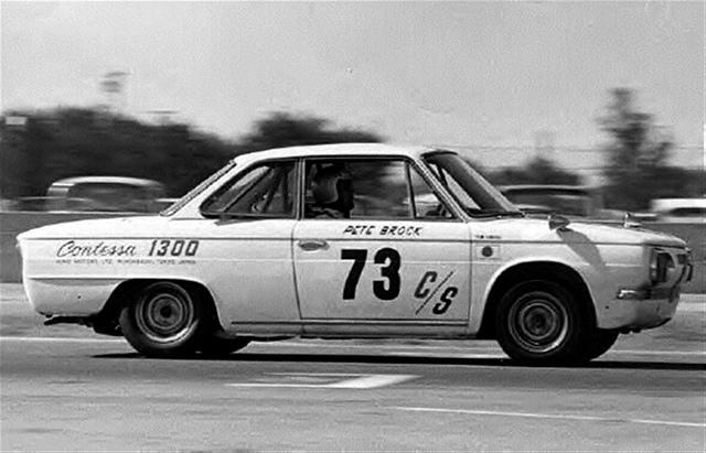 BRE Racing, Pete Brook, Hino Contessa PD, 1300, Samurai, racing, race car, wyścigi, sportowy samochód, japońska motoryzacja