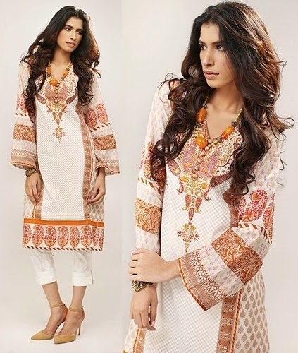 Orient Hand-Embroidered Kurti S/S 2014