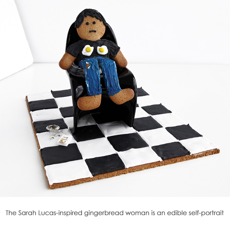 http://www.artfund.org/get-involved/edible-masterpieces/recipe/sarah-lucas