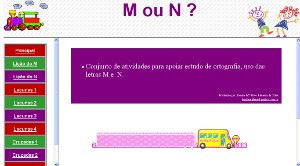 USO DO M-N NAS PALAVRAS