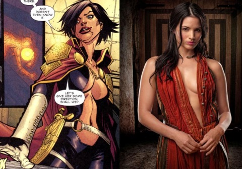 KATRINA LAW SERÁ NYSSA AL GHUL EN ARROW
