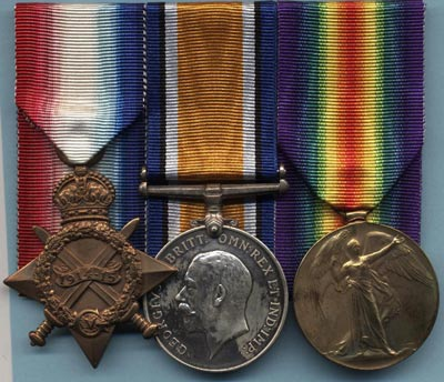 British Army Medals: WW1 Campaign Medals - dates of issue