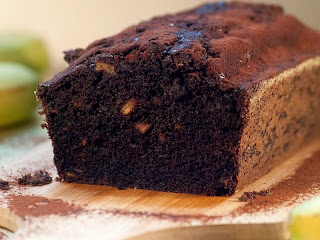 Banana bread and chocolate, cake à la banane et au chocolat