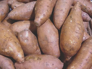 Sweet potatoes for Thanksgiving