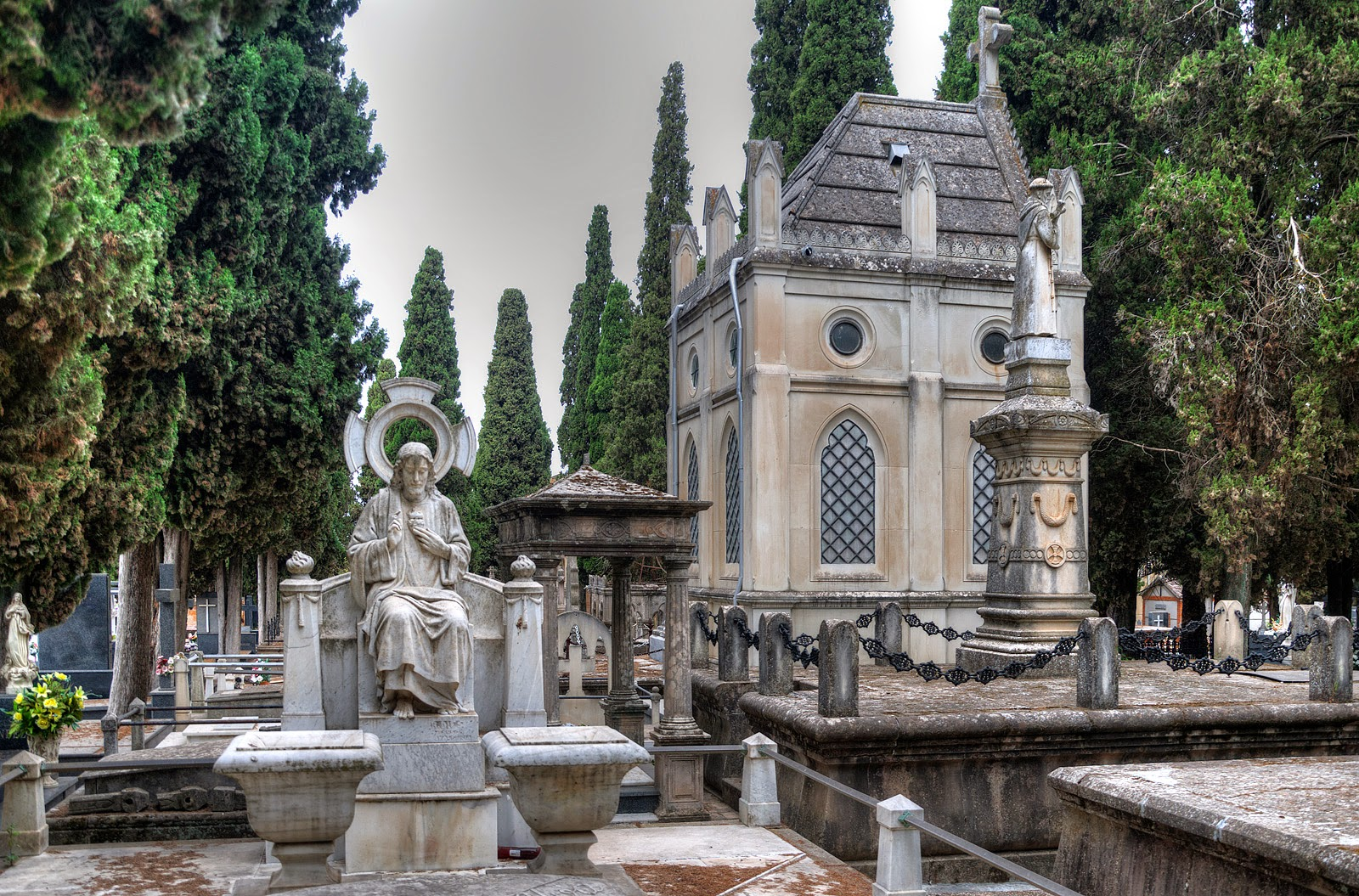 Municipal Cemetery of Sain Joseph in Linares, Spain