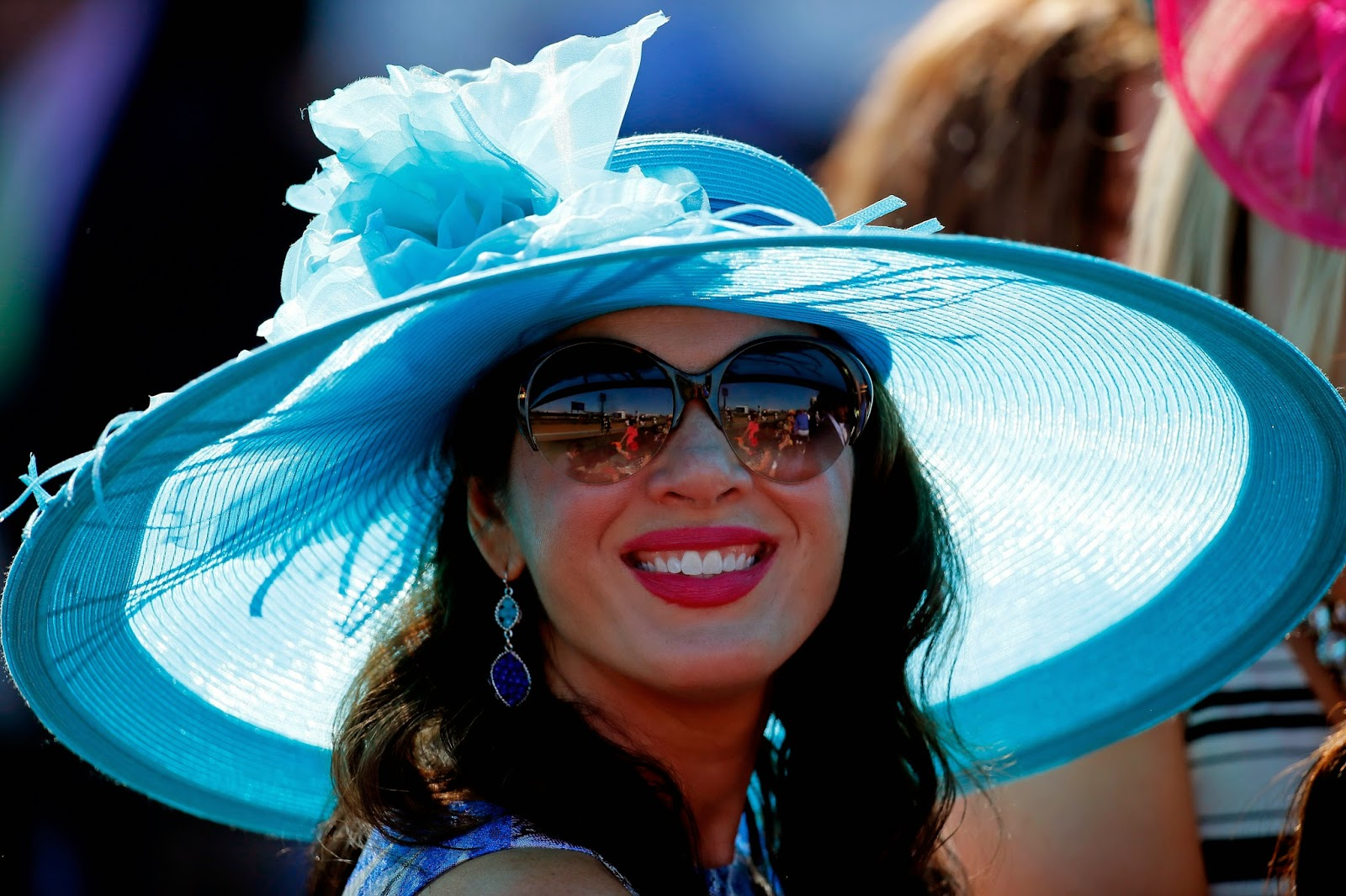 Churchill Downs, Derby, Destin Kincer, Entertainment, Festive Hats, Hats, Horse Race, Kentucky, Kentucky Derby, Kentucky Derby Hats, Louisville, Miss America 2014, Miss Kentucky US 2014, Nina Davuluri, Sports,
