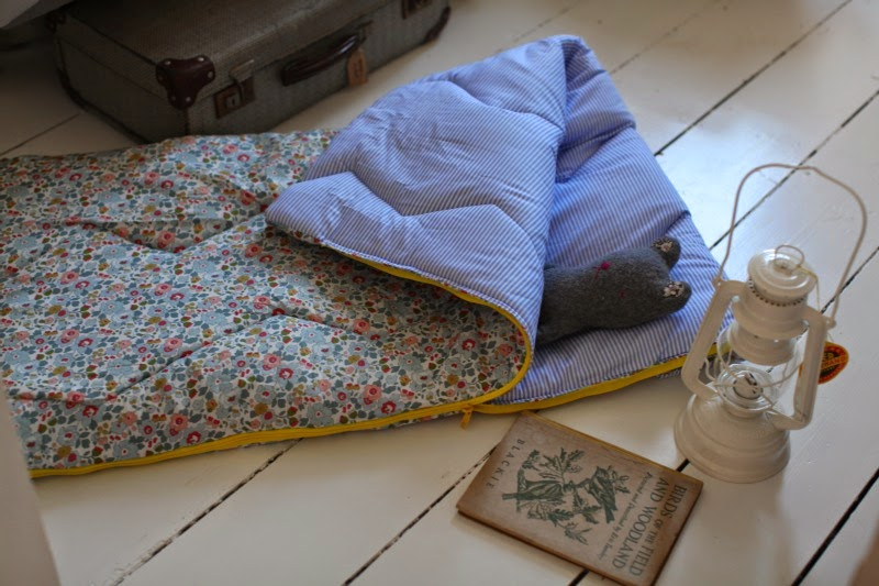 Making A Toddler Sleeping Bag And Other Stories