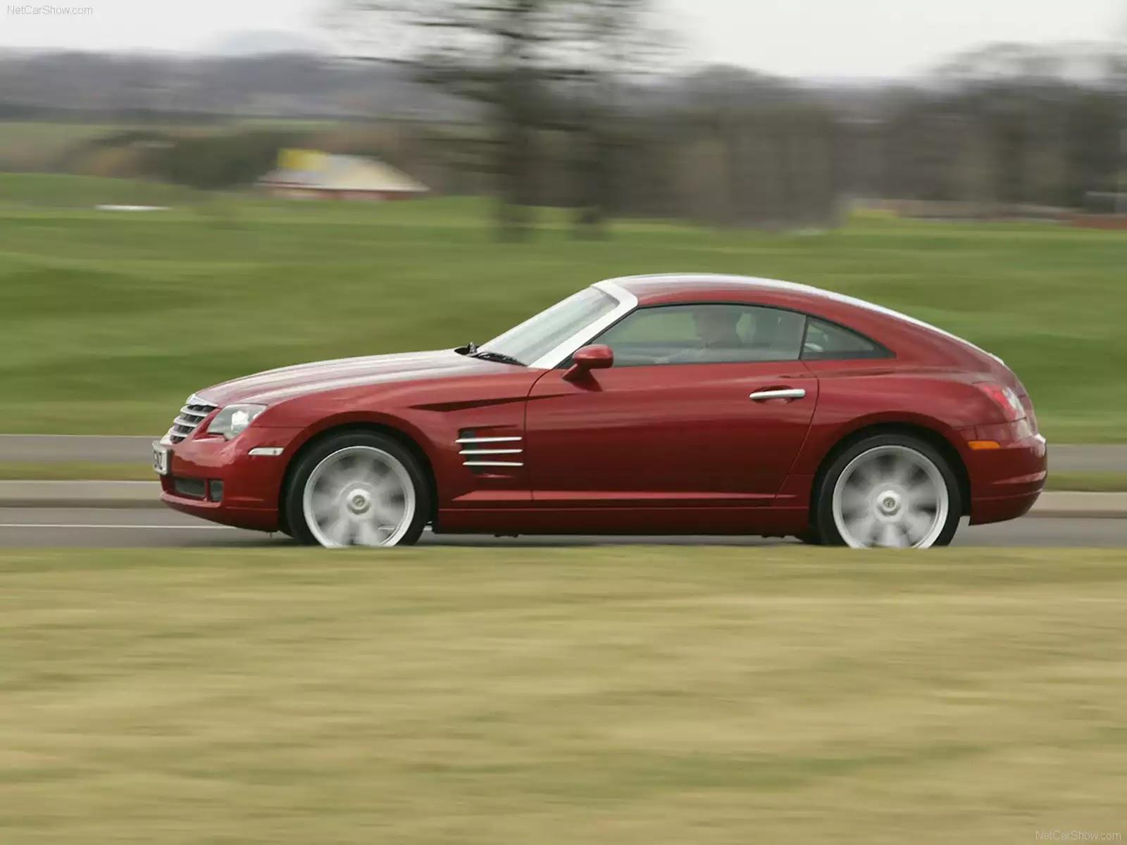 Hình ảnh xe ô tô Chrysler Crossfire UK Version 2007 & nội ngoại thất