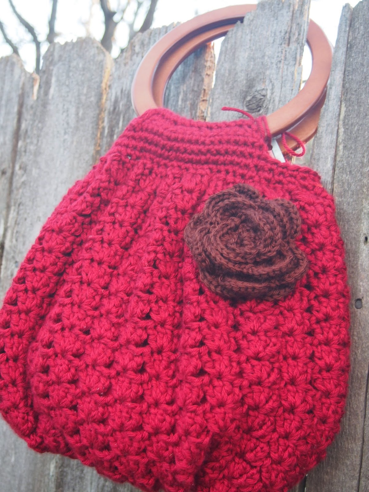 Free Hobo Purse Pattern : this crochet hobo purse bag is what i came up