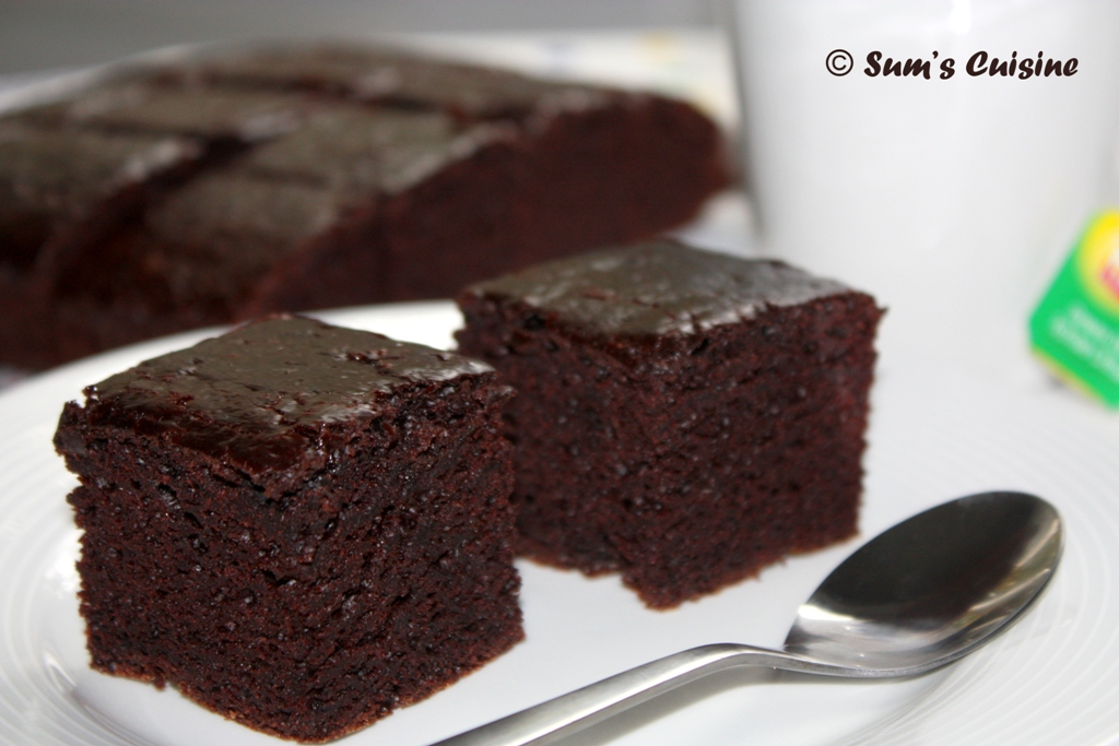 Sum's Cuisine: Eggless Cocoa Brownies