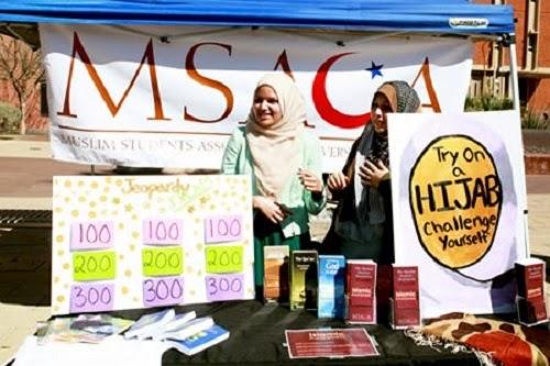Tantangan jilbab Universitas Arizona (OnIslam)
