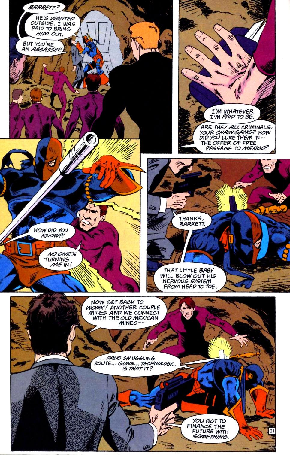 Deathstroke (1991) Issue #25 #30 - English 22