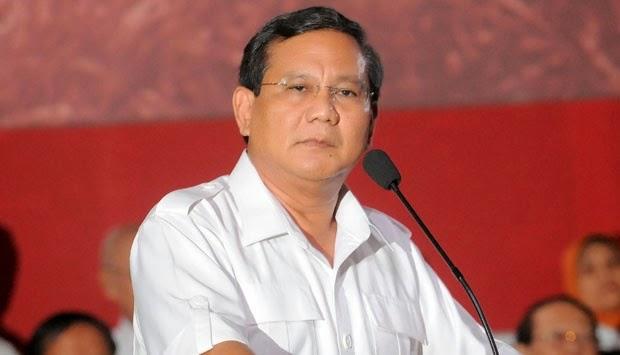 Prabowo: Bangsa Indonesia Kadang-kadang Naif dan Goblok