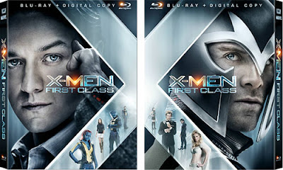 X-Men:First Class Blu-ray