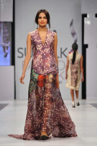 Fashion She9 Nickie Nina Collection at PFDC Sunsilk Fashion Week 2012 Karachi Day 2