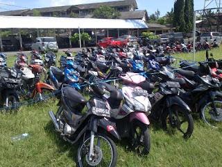 210 sepeda motor Suporter PSIS Berhasil di Evakuasi