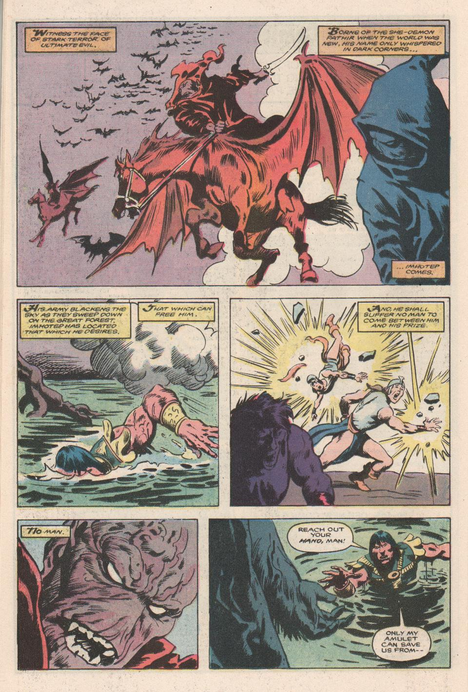 Conan the Barbarian (1970) Issue #180 #192 - English 19
