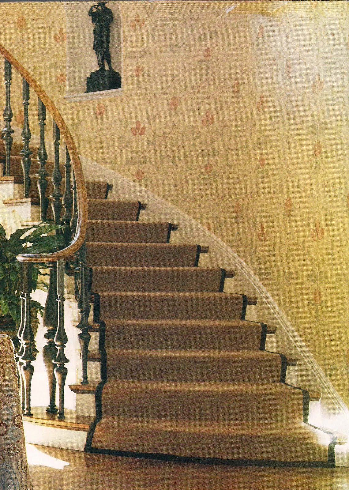 the devoted classicist staircase renovation
