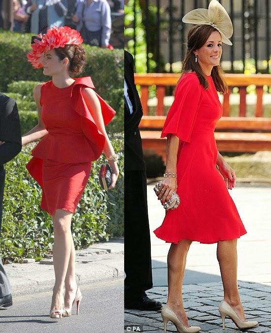 Cómo Combinar un Vestido Rojo.