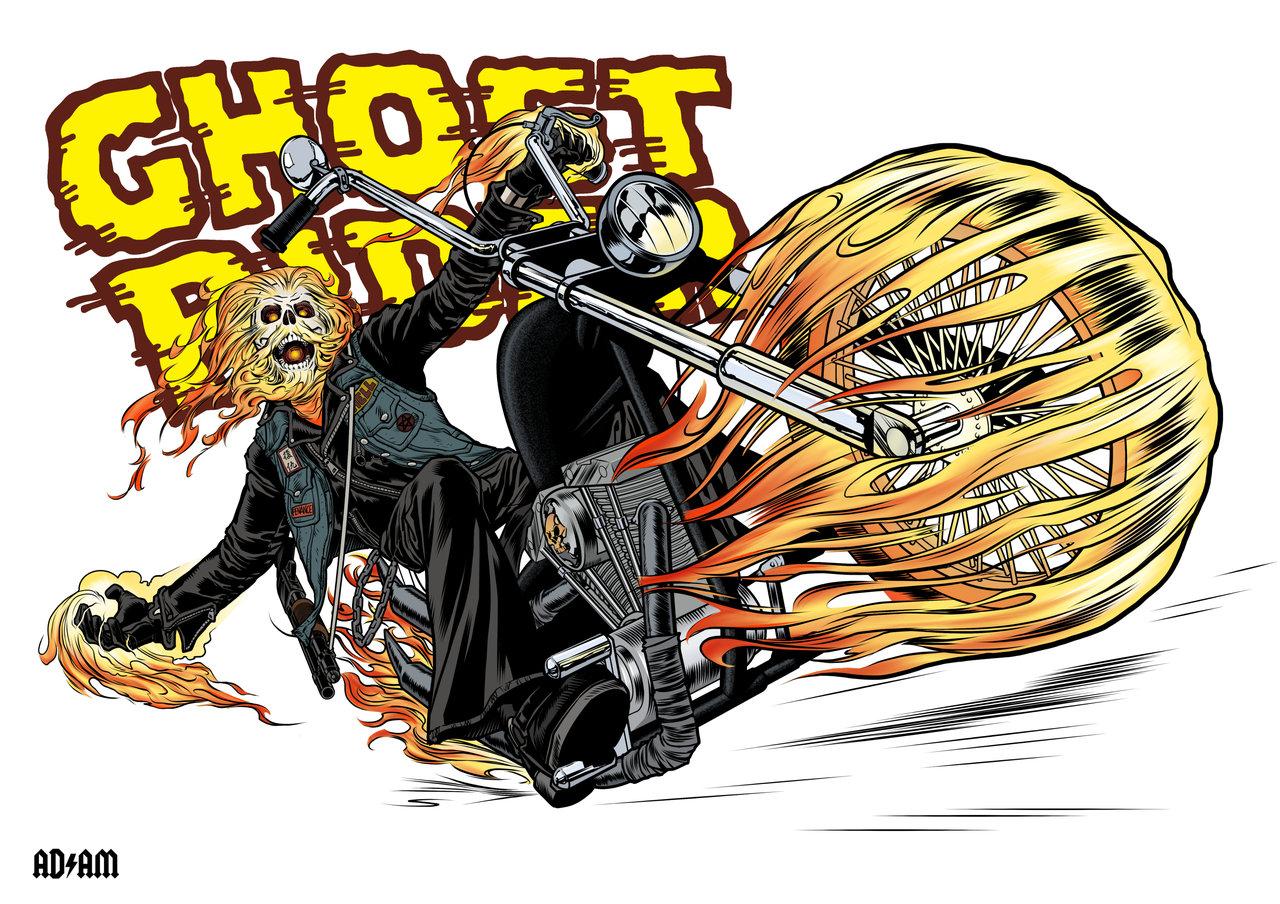 Ghost rider porn pic hentia clip