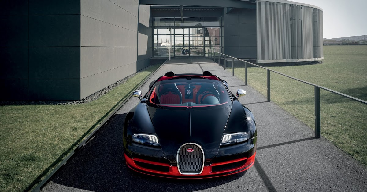 2012 bugatti veyron grand sport vitesse black red 8 0 w16 quad turbo 1200 hp 255 mph 0 62 mph. Black Bedroom Furniture Sets. Home Design Ideas