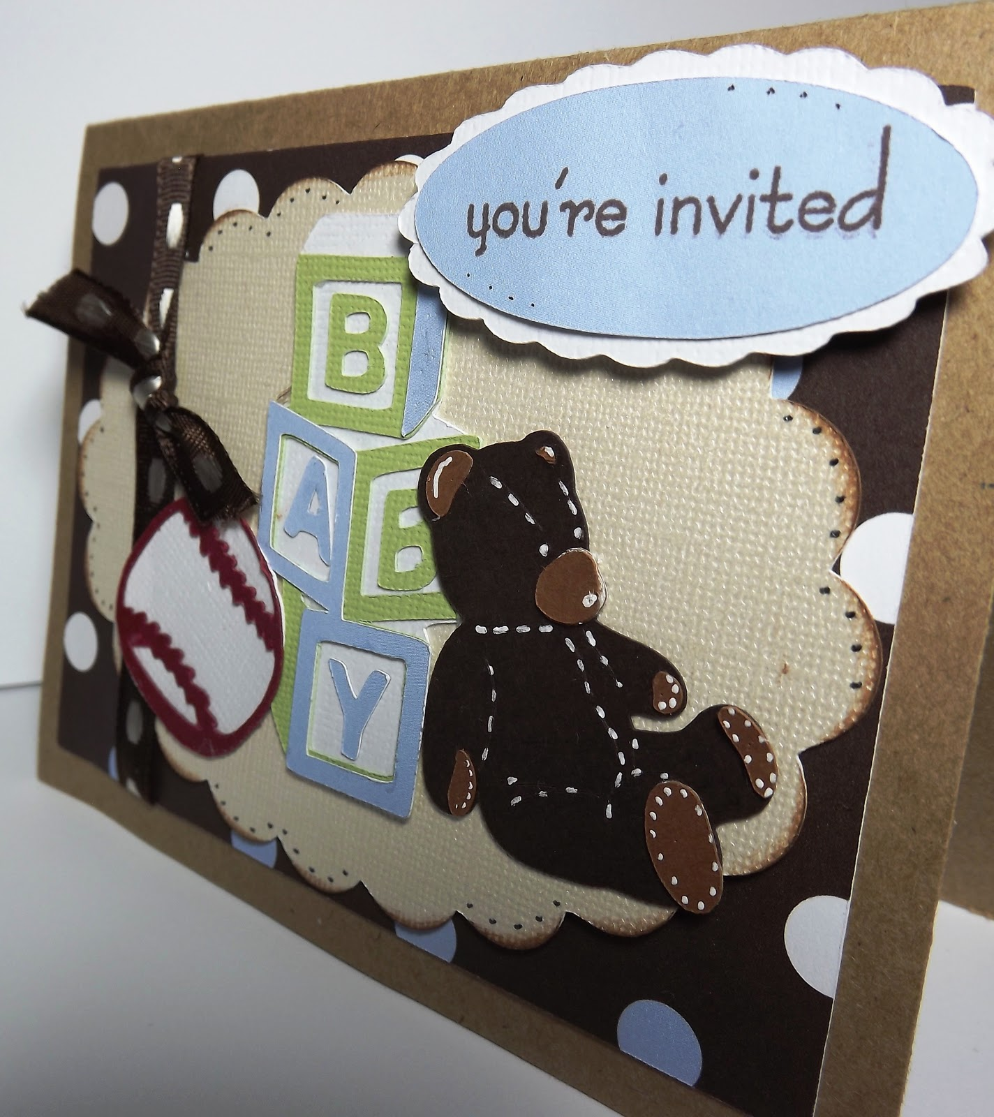 Busy With The Cricky: Baby Boy Shower Invitation For Everyday Cricut
