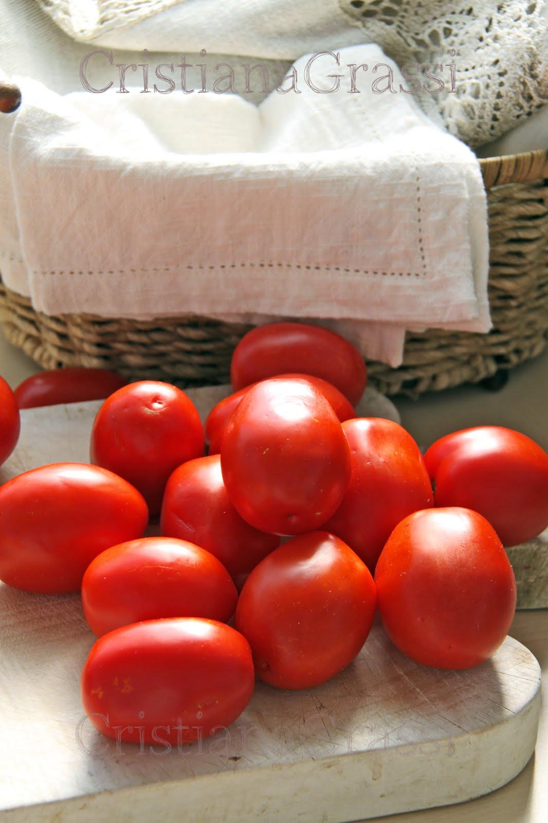 I pomodori di zio Dante