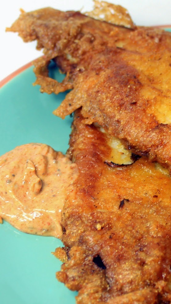 52 ways to cook beer battered fried fish fillets 52 for Cornmeal fish fry batter