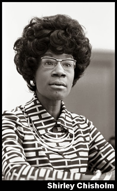 """shirley chisholm essay """"a new era in american politics"""": shirley chisholm and the disclosure of identity callaloo 31 4 (2008) 1013-1025 print  please type your essay title ."""