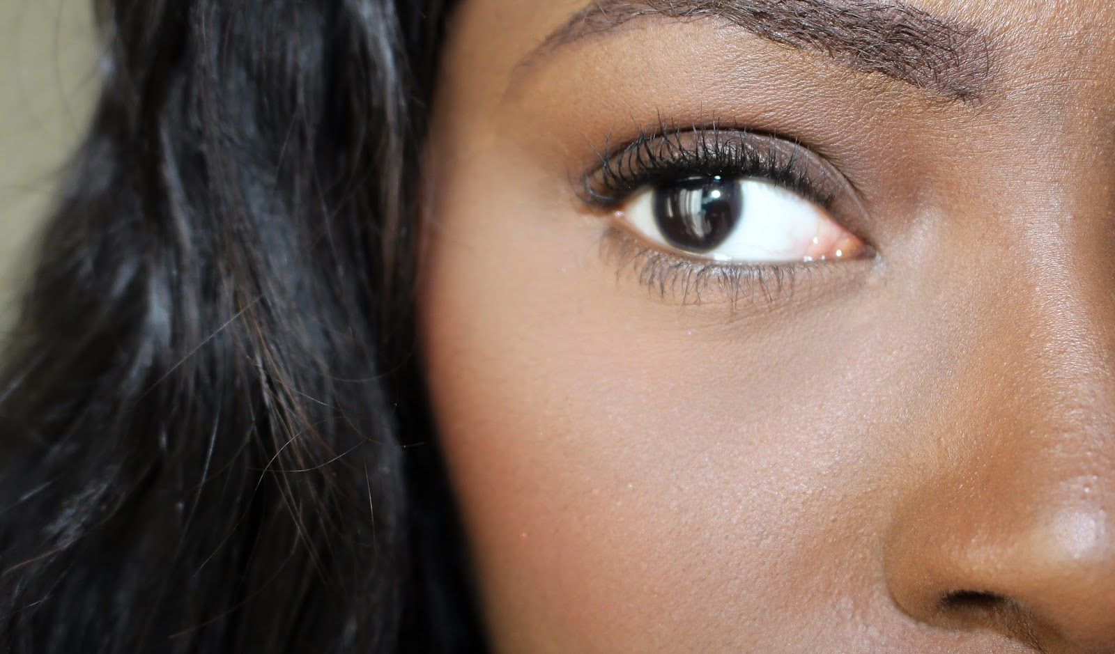 MDMFlow Greater Than Mascara after two coats