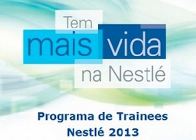 NESTLÉ TRAINEE 2013- JOVEM APRENDIZ