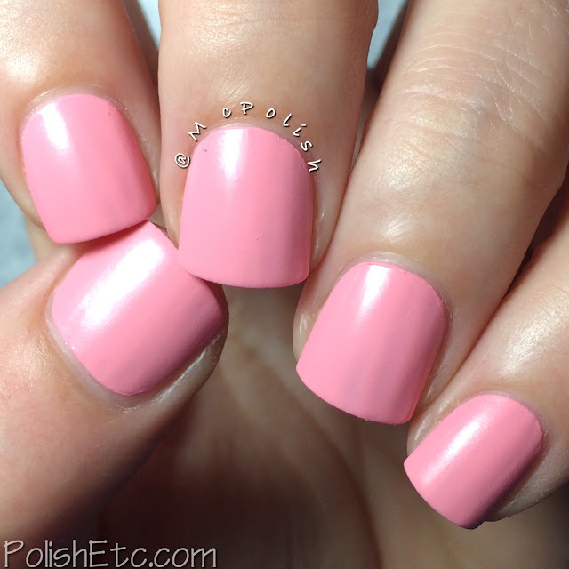 SinfulColors - A Class Act, Chalkboard Diaries - McPolish - Pink Break