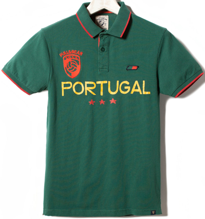 polo Portugal Pull & Bear Eurocopa 2012