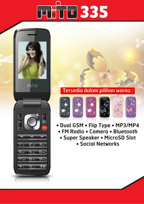 Mito 335 Price Specifications Flip Dual GSM Mobile Offers