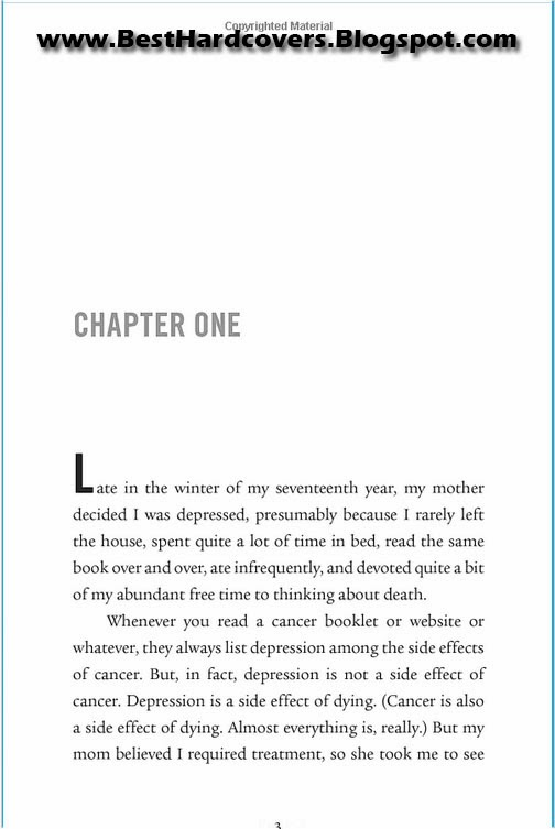 The Fault In Our Stars By John Green - Chapter One Page 3