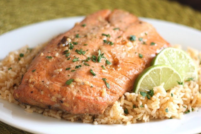 Barefeet In The Kitchen: Chipotle Lime Salmon