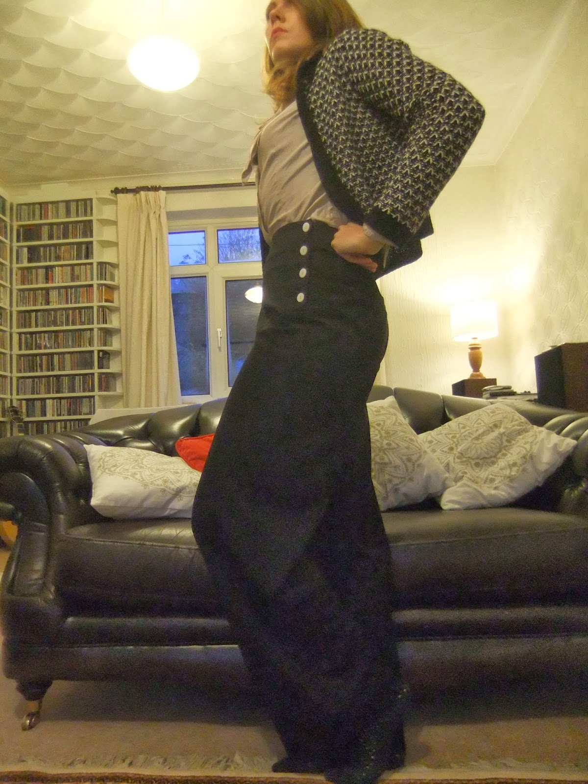 1940s swing trousers
