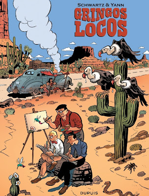 Gringos Locos: Franquin, Morris y Jijé en America, por Yann y Schwartz (PREVIEW Y COMENTARIOS) Adelantos%2Bgringos%2B01