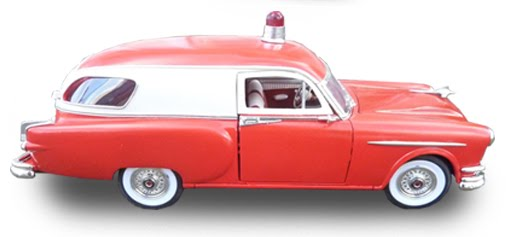 1:18 scale 1953 Henney Packard Junior