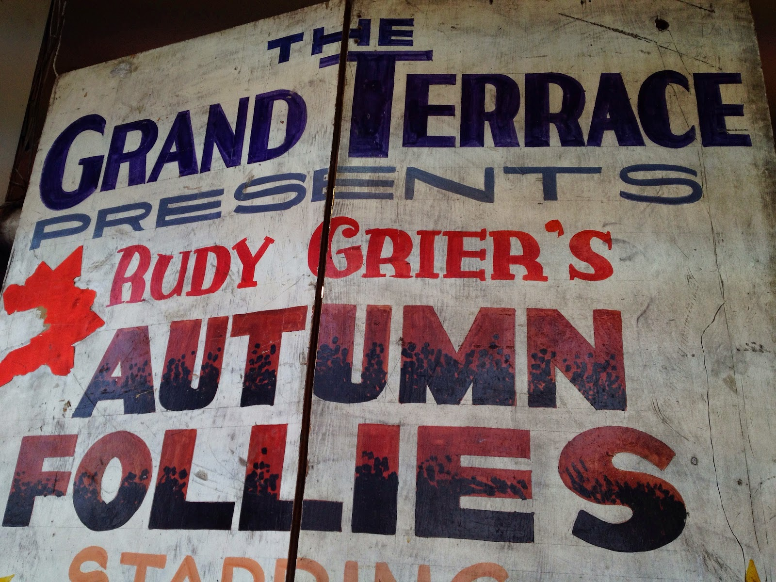 The Grand Terrace Presents Rudy Grier's Autumn Follies