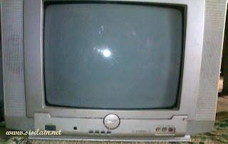 Service TV Akari Rusak Mati Total
