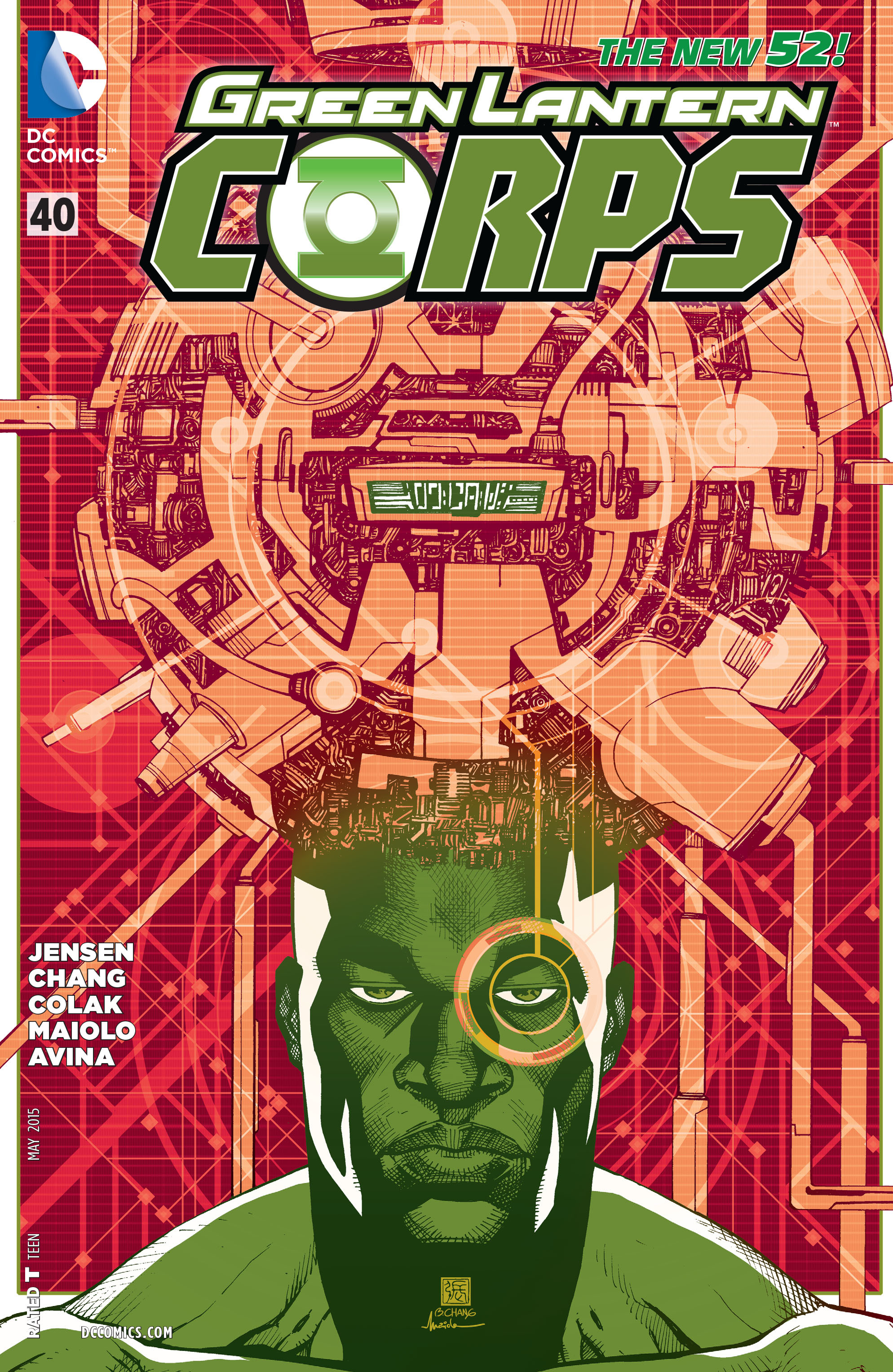 Green Lantern Corps (2011) Issue #40 #43 - English 1