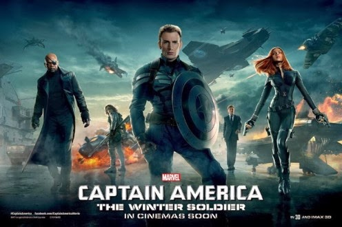 Film Captain America: The Winter Soldier 2014 Bioskop