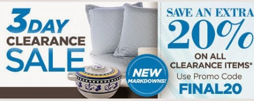 The Shopping Channel Extra 20% Off Clearance Items Promo Code