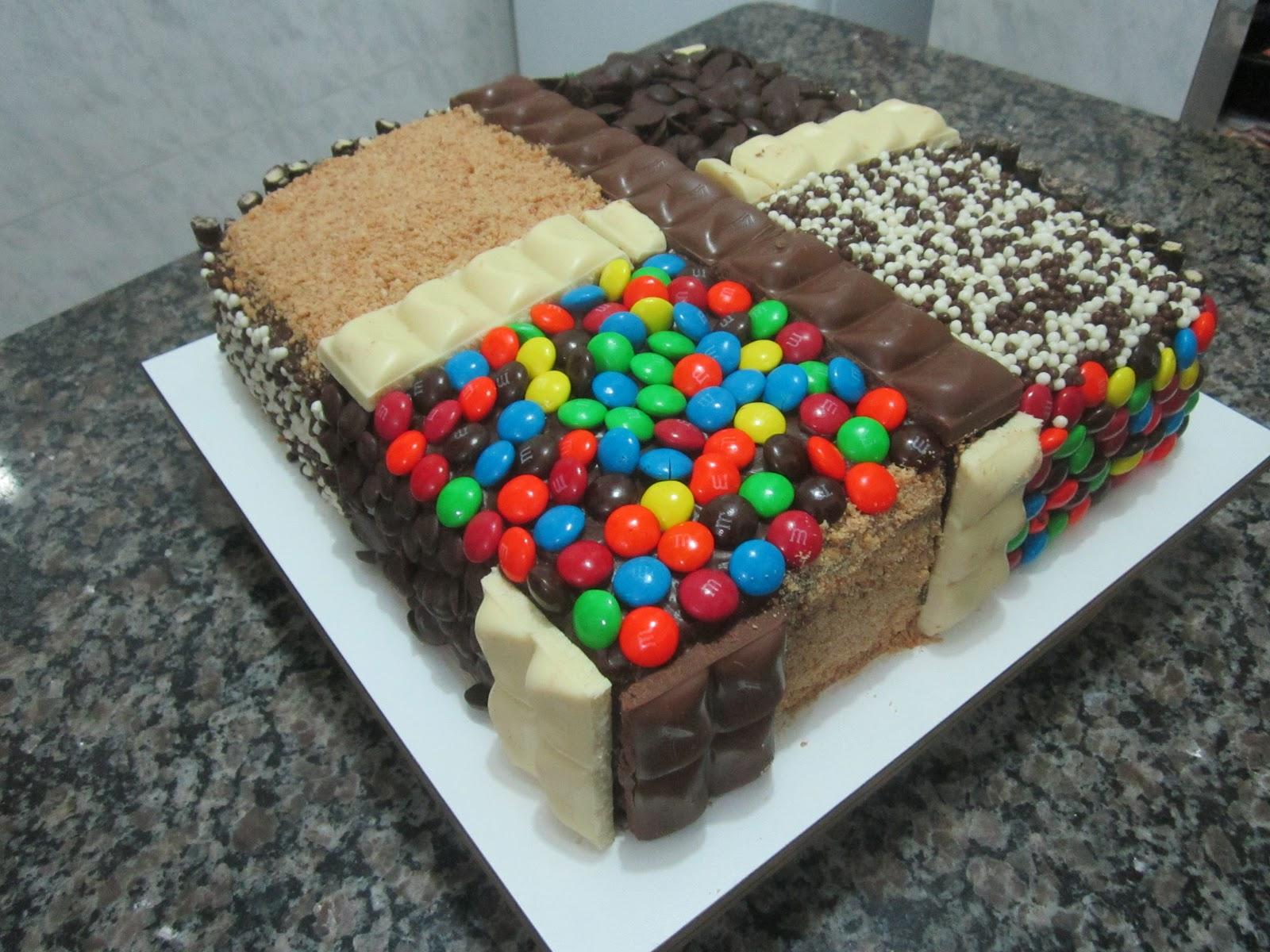 Extremamente Nyna's Tortas: Bolo Diferente GO03