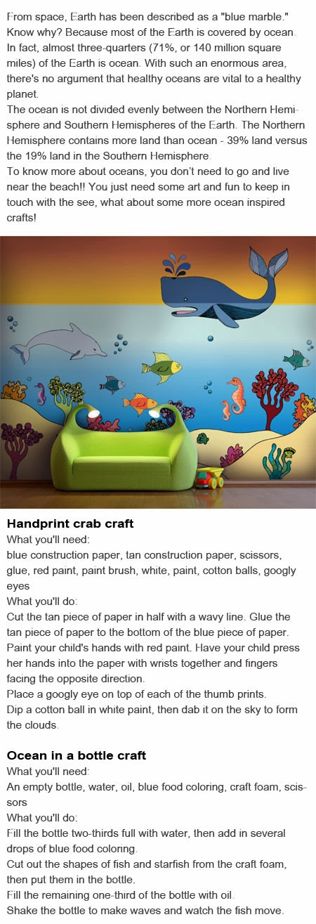 Ocean art for kids