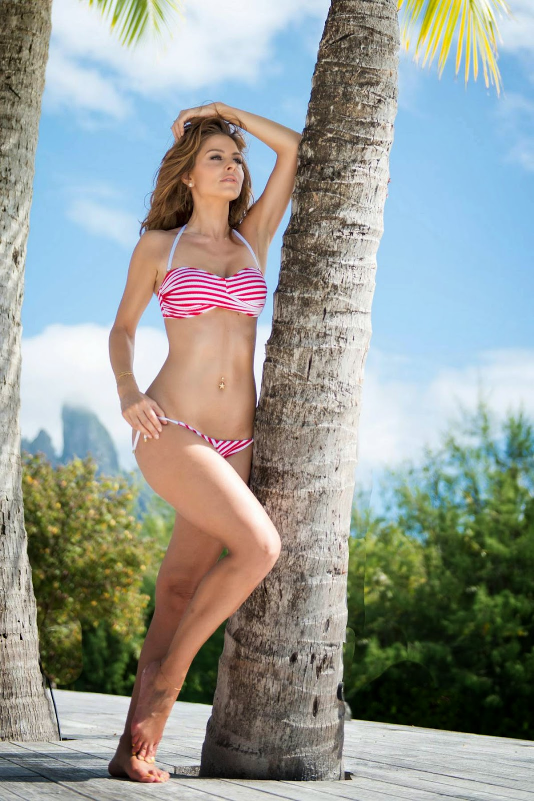 Maria Menounos Hot HQ Bikini Wallpapers