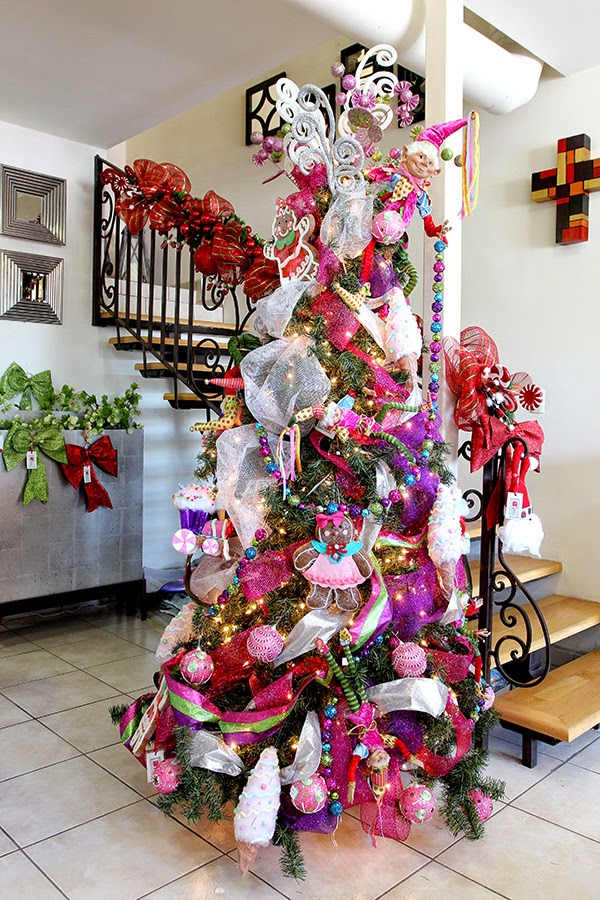 Arboles de navidad ultimas tendencias decoracion 2015 - Arboles navidad decorados ...