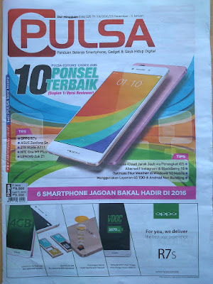 Tabloid Koran Pulsa Terbaru 2016