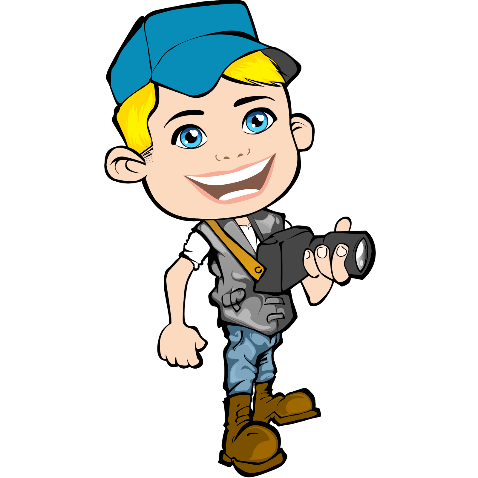 vector journalist design using adobe photoshop by alexies photojournalist clipart News Reporter Clip Art